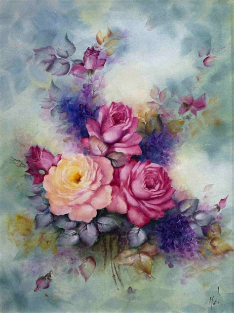 flower painting pictures 35 awesome flowers painting free premium creatives