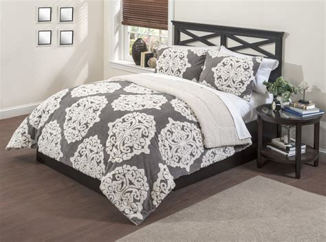 sherpa comforter set sherpa medallion comforter set home bed bath