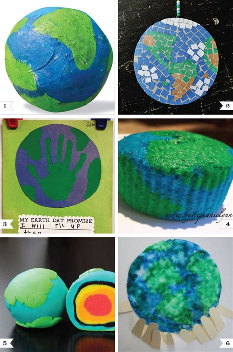 earth crafts for earth day craft project ideas chickabug