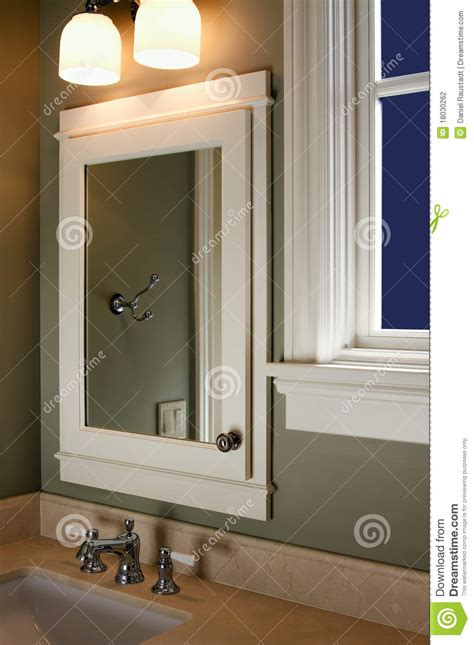 home interior mirrors home interior bathroom mirror and sink stock photo image 18030262