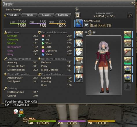 micro for crafting xiv ffxiv 100 2 hq crafting setup