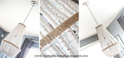 diy beaded chandelier tutorial 5 ways to get this look fireplace family room