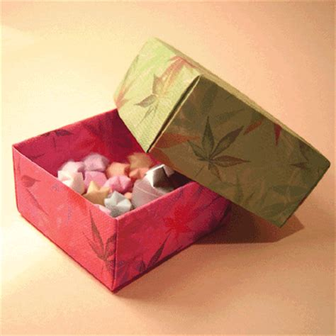 origami paper boxes simple box origami tutorial papermodeler
