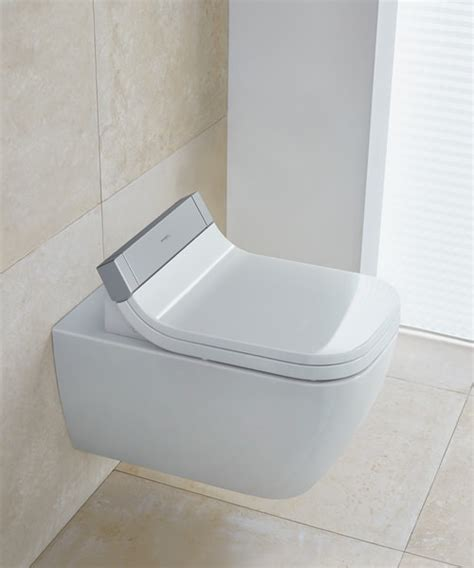 Duravit Toilet Happy by Duravit Happy D2 Wall Mounted Toilet With Sensowash Seat