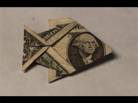 easy dollar bill origami dollar bill origami fish tutorial how to make an easy