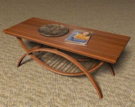 furniture woodworking projects furniture plans 187 archive bent wood coffee table