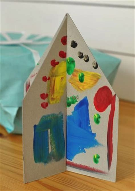 house craft ideas for cardboard house craft for arts school
