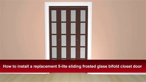 bifold closet doors with frosted glass frosted glass bifold closet doors images