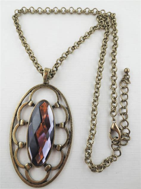 large pendants for jewelry premier quality amethyst rhinestone vintage design large