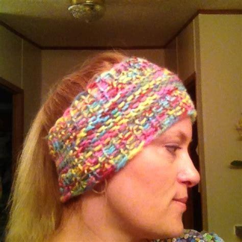 ear warmer loom knitting pattern loom knit ear warmer free knifty knitter patterns