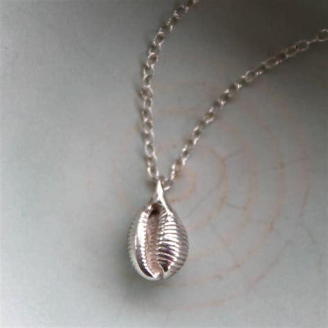 shell pendants jewelry cowrie shell pendant by walshe jewellery