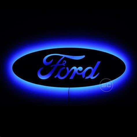 Ford Sign by Lighted Ford Sign Led Backlit Ford Emblem Lighted