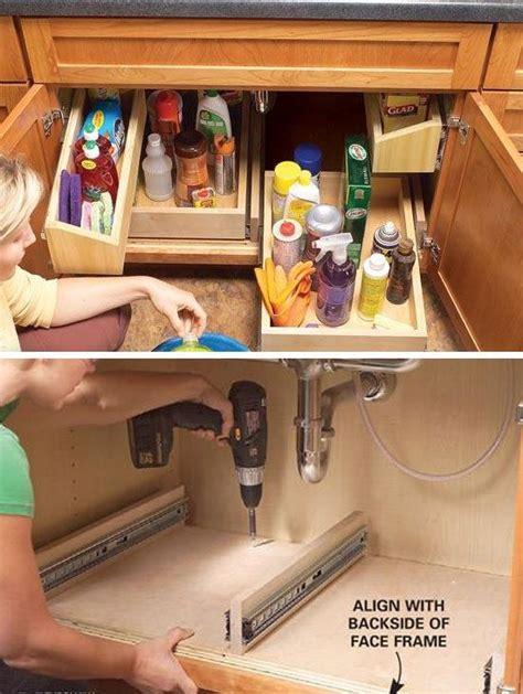 kitchen sink storage ideas 12 small kitchen storage ideas craftriver