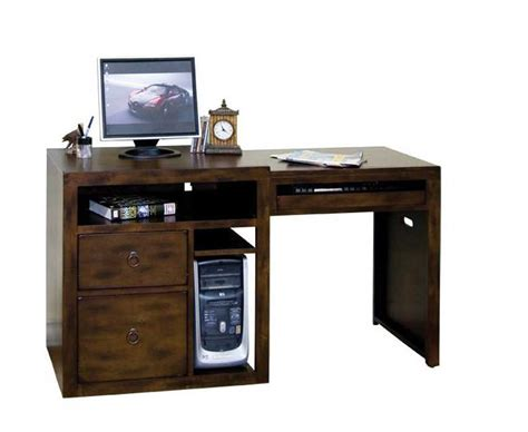 computer desks for the home wood work all wood computer desk pdf plans