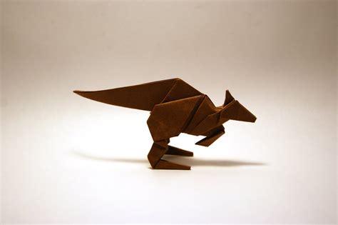 origami paper australia origami kangaroo by orimin on deviantart