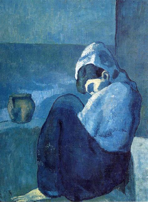 picasso paintings blue crouching pablo picasso wikiart org