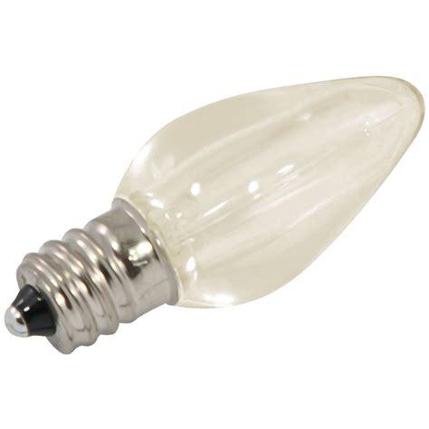c7 warm white led bulbs commercial led c7 linear light strand bulbs 25 pack