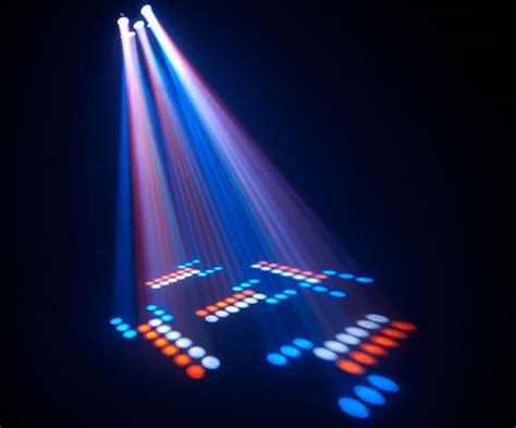 multi colored lights chauvet professional circus led multi colored effect beams