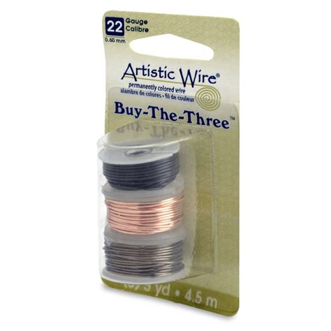 where to buy wire for jewelry artistic wire 3 pack 22ga black gunmetal jewelry