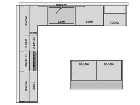 free kitchen floor plans best l shaped kitchen layout rapflava