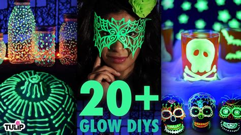 glow in the paint projects the ultimate glow in the diy roundup 20 diy project
