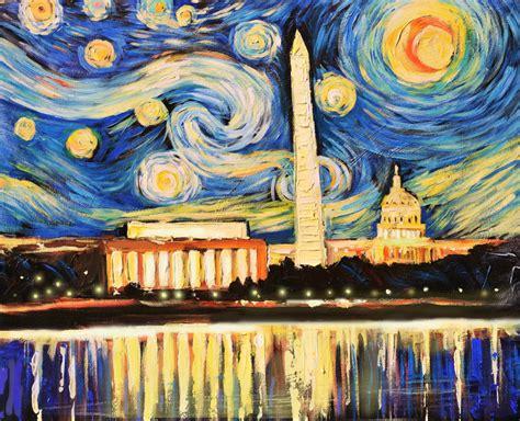 paint nite washington dc d c starry