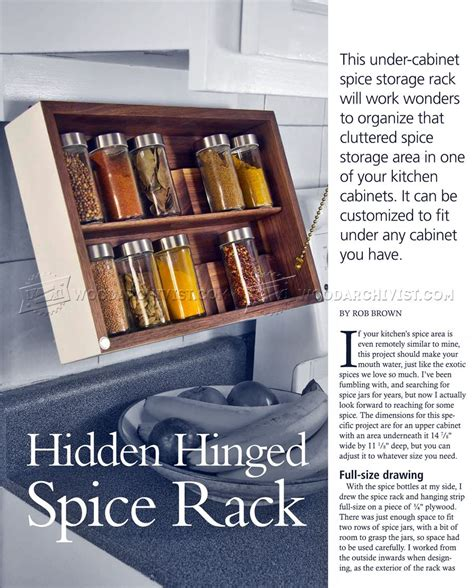 spice rack woodworking plans diy spice rack woodarchivist