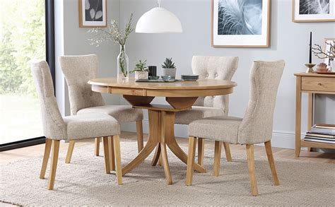 set of dining table and chairs hudson extending dining table 4 chairs set bewley