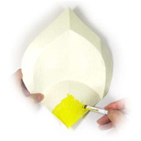 calla origami how to make an origami calla page 7
