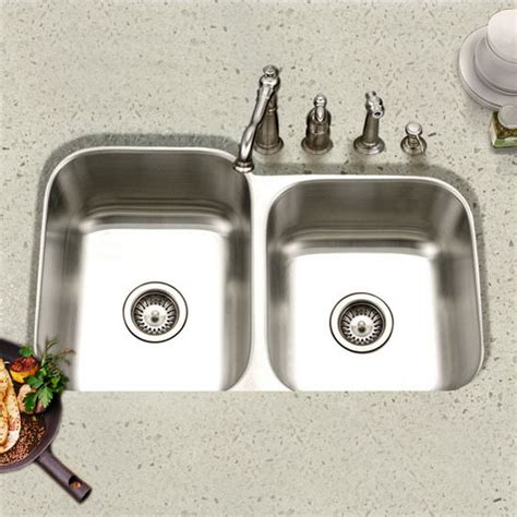 60 40 kitchen sink ex ste 2300s eston undermount 60 40 bowl kitchen