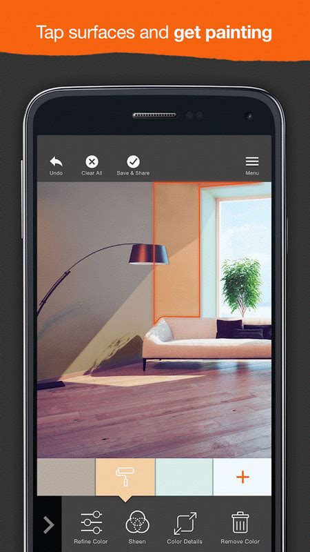 home depot paint my house app project color the home depot apk free android app