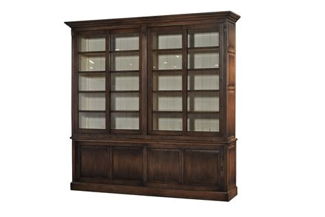 bookcase with sliding doors bookcase with sliding doors riverside furniture allegro