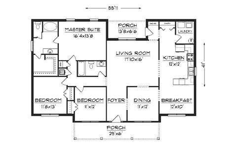 blueprints for houses free j2070 house plans by plansource inc