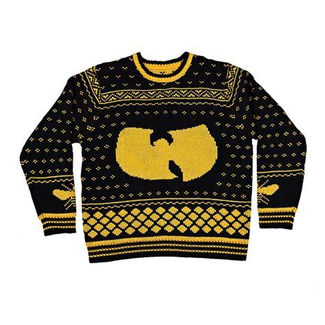 wu tang knit sweater hip hop sweaters wu tang clan jpg 800 215 800