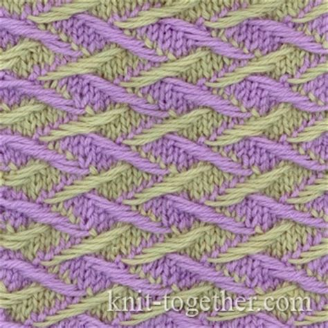 two colour knitting patterns free knit together two color pattern 3 knitting pattern