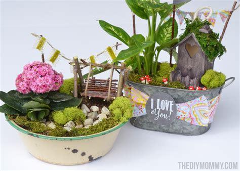 gift ideas for garden mini garden in a tin gift handmade mother s day