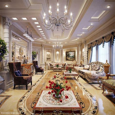 luxury villa living room 4 interior design ideas