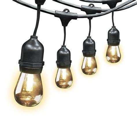light strings led 20 foot led string lights feit electric