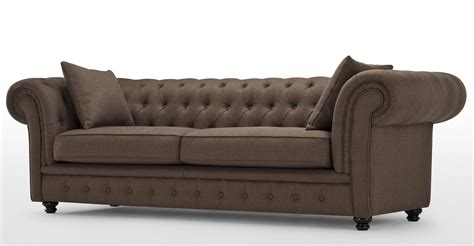 what is chesterfield sofa branagh 3 seater brown chesterfield sofa made