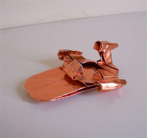 origami millennium falcon wars origami