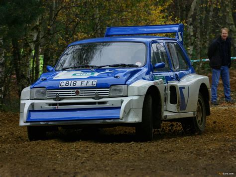 B Rally Car Wallpapers by Mg Metro 6r4 B Rally Car 1985 86 Wallpapers 1600x1200