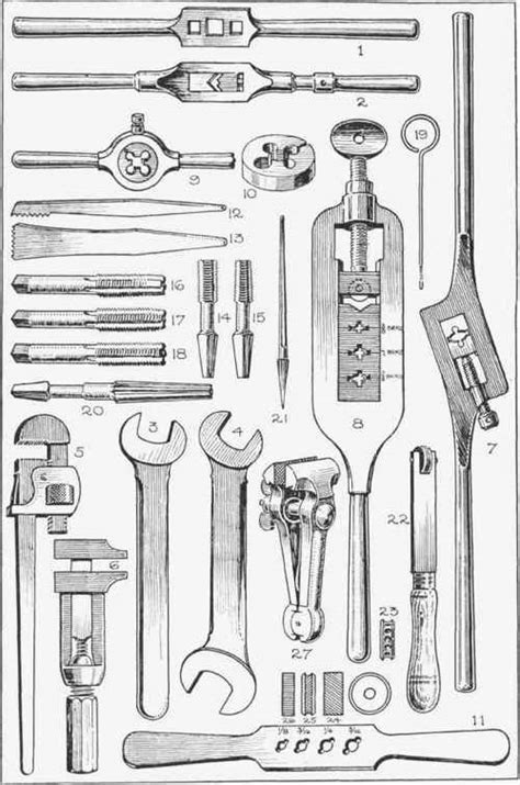 woodworking tools and their uses metalworking tools and their uses fig 16 continued