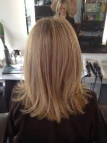 pictures of the back of shoulder lenth hair before and after cool blonde chic cut neil george