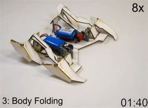 origami robots the end nears self assembling origami robots geekologie
