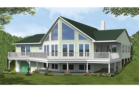 a frame house plans with garage home plan homepw77309 2838 square foot 3 bedroom 2 bathroom a frame home with 0 garage bays