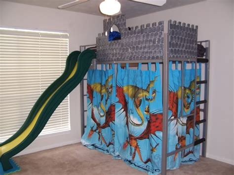 boy bunk bed with slide great idea of boy loft bed with slide babytimeexpo