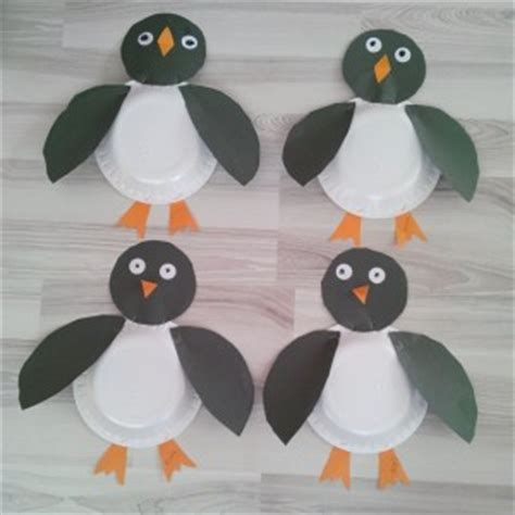 penguin paper plate craft paper plate animals craft crafts and worksheets for