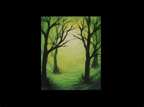 acrylic painting to light or light to how to paint a weeping willow tree step by step