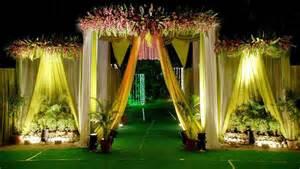 Garden Accessories In Hyderabad Wedding And Reception Flower Decoration And Stage