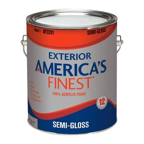 home depot semi gloss paint colors america s finest 1 gal semi gloss accent colors